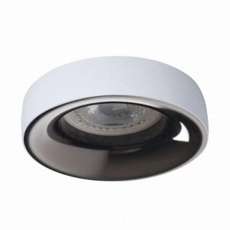 KANLUX 27805   Elnis Kanlux beépíthető lámpa kerek foglalat nélkül Ø98mm 1x MR16 / GU5.3 / GU10 fehér, antracit