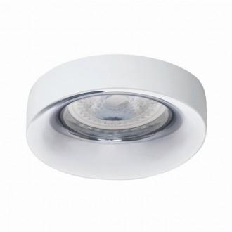 KANLUX 27806   Elnis Kanlux beépíthető lámpa kerek foglalat nélkül Ø98mm 1x MR16 / GU5.3 / GU10 fehér, króm
