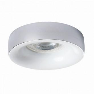 KANLUX 27811   Elnis Kanlux beépíthető lámpa kerek foglalat nélkül Ø98mm 1x MR16 / GU5.3 / GU10 króm, fehér