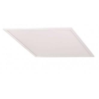 KANLUX 28008 | Bravo Kanlux álmennyezeti, mennyezeti, függeszték professional ultra SLIM LED panel - 5 év garancia négyzet 1x LED 5400lm 4000K fehér