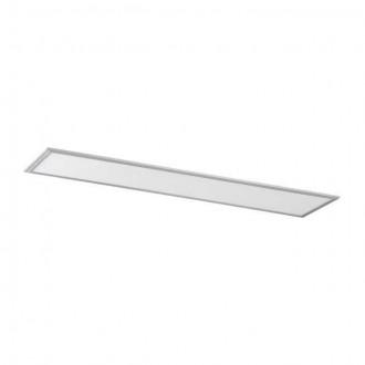 KANLUX 28023 | Bravo Kanlux álmennyezeti, mennyezeti, függeszték ultra SLIM LED panel téglalap 1x LED 4000lm 4000K ezüst