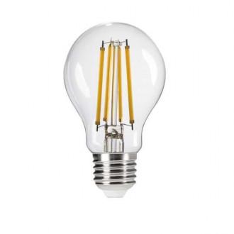 KANLUX 29604 | E27 8W -> 75W Kanlux normál A60 LED fényforrás filament 1055lm 2700K 320° CRI>80
