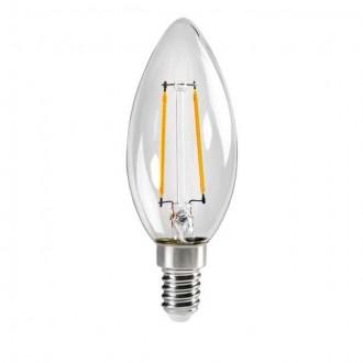 KANLUX 29617 | E14 2,5W -> 25W Kanlux gyertya C35 LED fényforrás filament 250lm 2700K 320° CRI>80