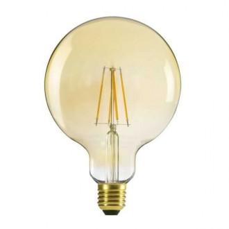 KANLUX 29638 | E27 7W -> 55W Kanlux nagy gömb G125 LED fényforrás filament 725lm 2500K 320° CRI>80