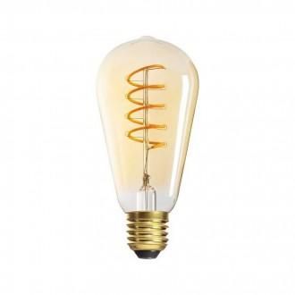 KANLUX 29643 | E27 5W -> 25W Kanlux Edison ST64 LED fényforrás super warm - filament 270lm 1800K 320° CRI>80