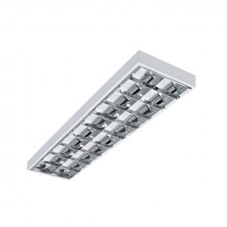 KANLUX 30172 | RSTR_LED Kanlux mennyezeti armatúra téglalap T8 LED fényforráshoz tervezve 2x G13 / T8 LED UV fehér