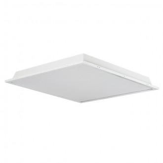 KANLUX 30200 | Trez Kanlux álmennyezeti LED panel négyzet 1x LED 3250lm 5000K IP44/40 alumínium, fehér