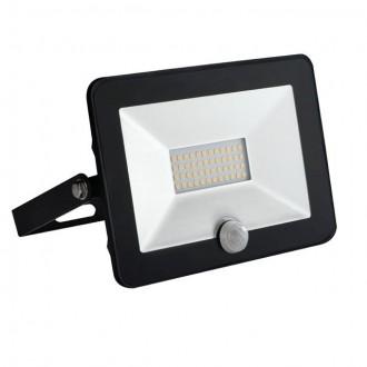 KANLUX 30325 | Grun Kanlux fényvető lámpa téglalap mozgásérzékelő elforgatható alkatrészek 1x LED 1400lm 4000K IP65 fekete