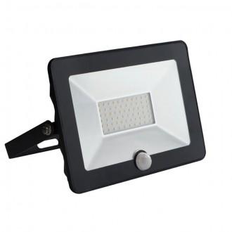 KANLUX 30326 | Grun Kanlux fényvető lámpa téglalap mozgásérzékelő elforgatható alkatrészek 1x LED 2100lm 4000K IP65 fekete
