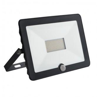 KANLUX 30327 | Grun Kanlux fényvető lámpa téglalap mozgásérzékelő elforgatható alkatrészek 1x LED 3500lm 4000K IP65 fekete