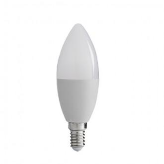 KANLUX 31037 | E14 8W -> 48W Kanlux gyertya C37 LED fényforrás SMD 600lm 3000K 210°