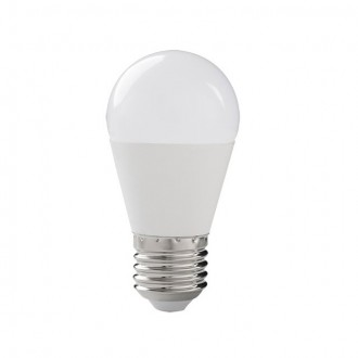 KANLUX 31039 | E27 8W -> 48W Kanlux kis gömb G45 LED fényforrás SMD 600lm 3000K 210°