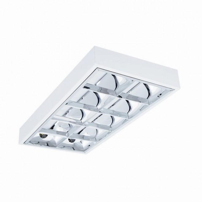 KANLUX 31045 | RSTR Kanlux mennyezeti armatúra téglalap 2x G13 / T8 UV fehér