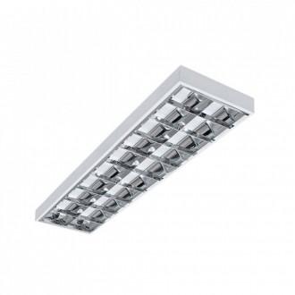 KANLUX 31058 | RSTR-LED Kanlux mennyezeti armatúra téglalap T8 LED fényforráshoz tervezve 2x G13 / T8 LED UV fehér