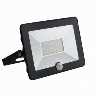 KANLUX 31068 | Grun Kanlux fényvető lámpa téglalap mozgásérzékelő elforgatható alkatrészek 1x LED 2100lm 4000K IP65 fekete