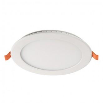 KANLUX 31081 | SP-LED Kanlux beépíthető, mennyezeti LED panel kerek 1x LED 900lm 4000K fehér