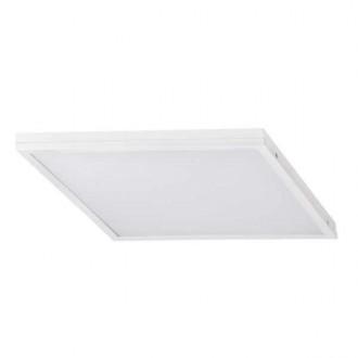 KANLUX 31134 | Barev Kanlux álmennyezeti, mennyezeti, függeszték LED panel négyzet 1x LED 3200lm 4000K fehér