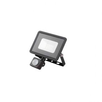 KANLUX 31154 | Grun Kanlux fényvető lámpa téglalap mozgásérzékelő elforgatható alkatrészek 1x LED 700lm 4000K IP44 fekete