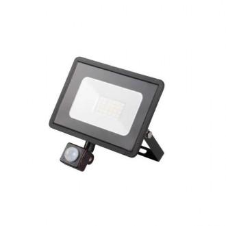 KANLUX 31155 | Grun Kanlux fényvető lámpa téglalap mozgásérzékelő elforgatható alkatrészek 1x LED 1500lm 4000K IP44 fekete