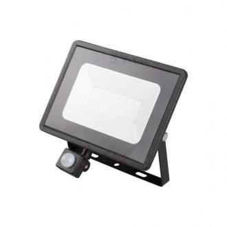 KANLUX 31156 | Grun Kanlux fényvető lámpa téglalap mozgásérzékelő elforgatható alkatrészek 1x LED 2300lm 4000K IP44 fekete