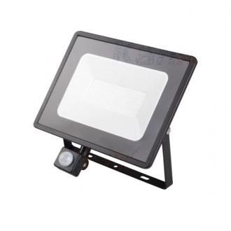 KANLUX 31157 | Grun Kanlux fényvető lámpa téglalap mozgásérzékelő elforgatható alkatrészek 1x LED 3800lm 4000K IP44 fekete