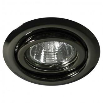 KANLUX 334 | Argus Kanlux beépíthető lámpa kerek billenthető Ø97mm 1x MR16 / GU5.3 grafit