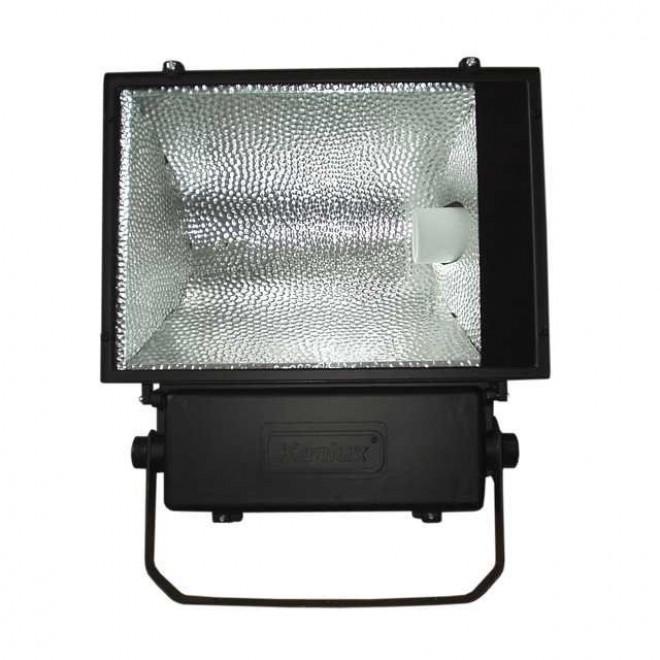 KANLUX 4011 | Avia-MTH Kanlux fényvető lámpa elforgatható alkatrészek 1x E40 IP65 fekete, átlátszó