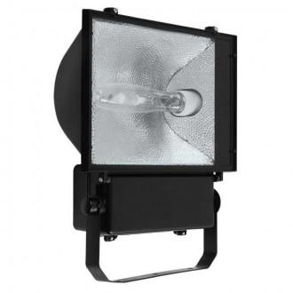 KANLUX 4013 | Avia_MTH Kanlux fényvető lámpa elforgatható alkatrészek 1x E40 IP65 fekete, átlátszó