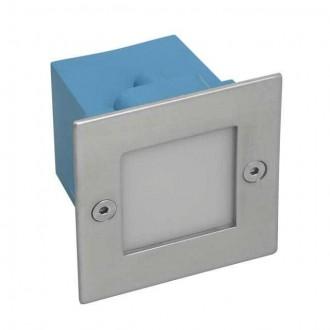 KANLUX 4392 | Taxi-LED Kanlux beépíthető lámpa négyzet 70x70mm 1x LED 2700K IP54 matt króm