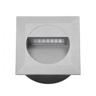 KANLUX 4681 | Linda-LED Kanlux beépíthető lámpa négyzet 126x126mm 1x LED 4000K IP65 szürke