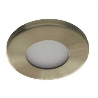 KANLUX 4710 | Marin Kanlux beépíthető lámpa kerek Ø85mm 1x MR16 / GU5.3 IP44/20 antikolt réz
