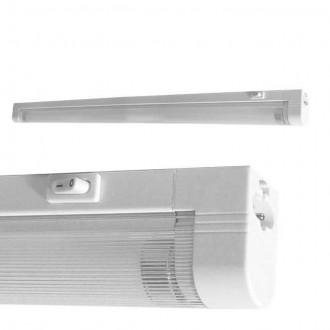KANLUX 4731   Mera Kanlux fali, mennyezeti lámpa kapcsoló 1x G5 / T5 4000K fehér