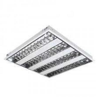 KANLUX 4830 | Graf Kanlux álmennyezeti armatúra négyzet 4x G5 / T5 fehér