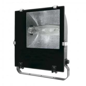 KANLUX 4842 | Adamo-MTH Kanlux fényvető lámpa elforgatható alkatrészek 1x E40 IP65 fekete, átlátszó