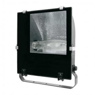 KANLUX 4845 | Adamo-MTH Kanlux fényvető lámpa elforgatható alkatrészek 1x E40 IP65 fekete, átlátszó
