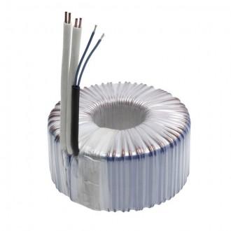 KANLUX 70408 | Kanlux toroid transzformátor 300W DIM 11,5V kerek szabályozható, hőbiztosíték