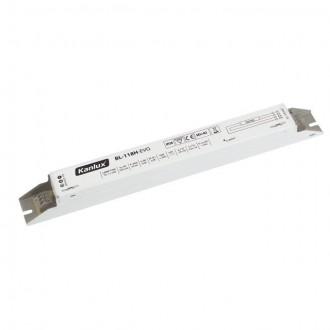 KANLUX 70480 | Kanlux működtető egység 1x18W T8 elektronikus előtét téglalap fehér
