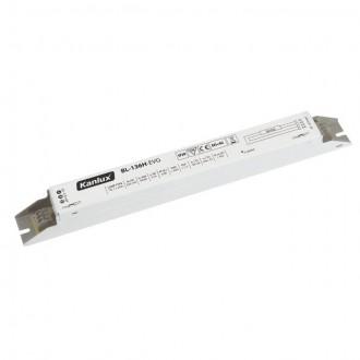 KANLUX 70481 | Kanlux működtető egység 1x36W T8 elektronikus előtét téglalap fehér