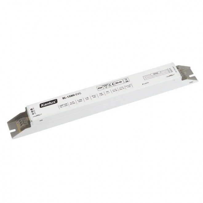 KANLUX 70482 | Kanlux működtető egység 1x58W T8 elektronikus előtét téglalap fehér