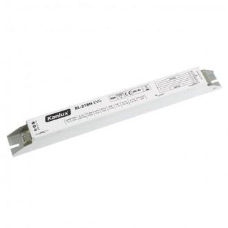 KANLUX 70483 | Kanlux működtető egység 2x18W T8 elektronikus előtét téglalap fehér