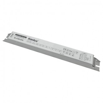 KANLUX 70486 | Kanlux működtető egység 4x18W T8 elektronikus előtét téglalap fehér