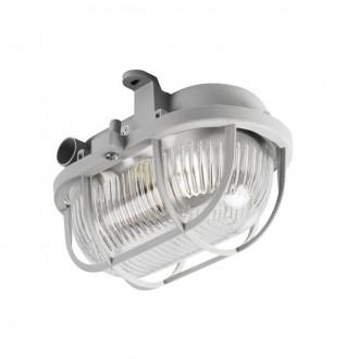 KANLUX 70523 | Milo1 Kanlux fali, mennyezeti lámpa 1x E27 IP43 IK06 szürke