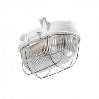KANLUX 70524 | Hermi Kanlux fali, mennyezeti lámpa 1x E27 IP54 IK06 szürke