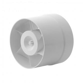 KANLUX 70901 | Kanlux csőventilátor Ø120 150m3/h kerek hőbiztosíték IP24 fehér