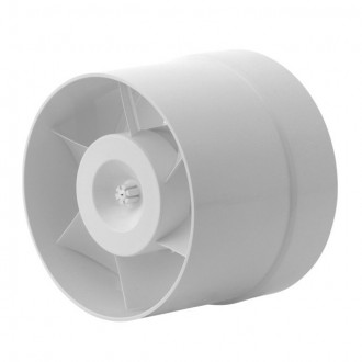 KANLUX 70903 | Kanlux csőventilátor Ø150 200m3/h kerek hőbiztosíték IP24 fehér