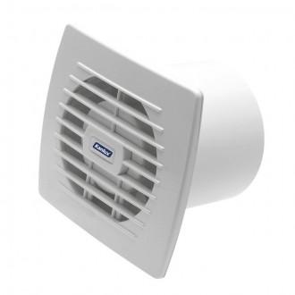 KANLUX 70911 | Kanlux csőventilátor Ø100 100m3/h téglalap zsaluzat nélkül, hőbiztosíték IP24 UV fehér