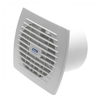 KANLUX 70916 | Kanlux csőventilátor Ø120 150m3/h téglalap zsaluzat nélkül, hőbiztosíték IP24 UV fehér