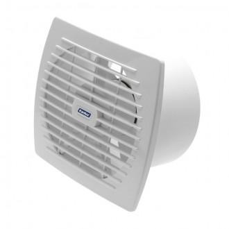 KANLUX 70920 | Kanlux csőventilátor Ø150 200m3/h téglalap húzókapcsoló zsaluzat nélkül, hőbiztosíték IP24 UV fehér