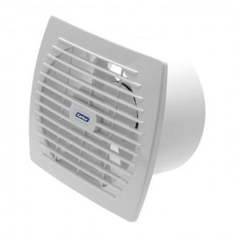 KANLUX 70921 | Kanlux csőventilátor Ø150 200m3/h téglalap zsaluzat nélkül, hőbiztosíték IP24 UV fehér