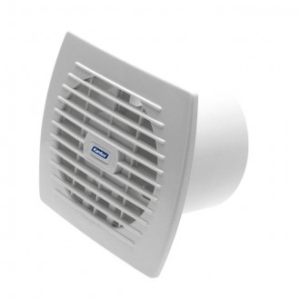 KANLUX 70941 | Kanlux csőventilátor Ø120 150m3/h téglalap páraérzékelő, időkapcsoló zsaluzat nélkül, hőbiztosíték IP24 UV fehér